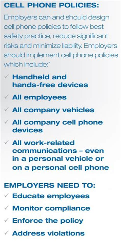 Governance Risk Compliance Risk Management Monitor Cell Phone Policy Template