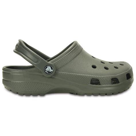 Original Crocs crocs classic shoe dusty olive original crocs slip on shoe