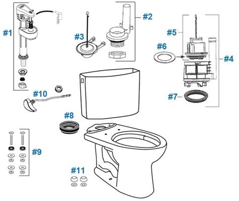 Drakes Plumbing Supplies by Kohler Toilets Parts Diagram Kohler Get Free Image About