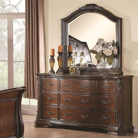 dining arrangement bedroom dresser with mirror decorating
