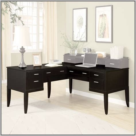 black l shaped desk black l shaped desk target desk home design ideas
