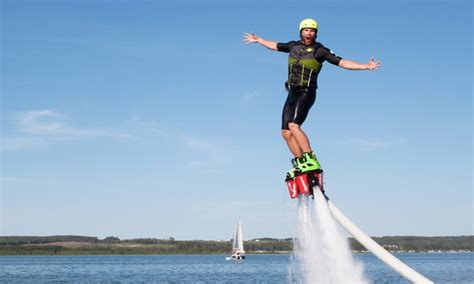 Jet Fly Board Voucher Discount Up To 80 Tanjung Benoa Bali canadian jetpack adventures in gimli mb groupon