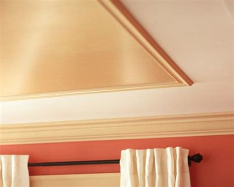Diy Tray Ceiling Inexpensive Quot Tray Quot Ceiling Ceiling Treatments