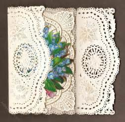 lace for card antiques atlas paper lace birthday card of c 1850