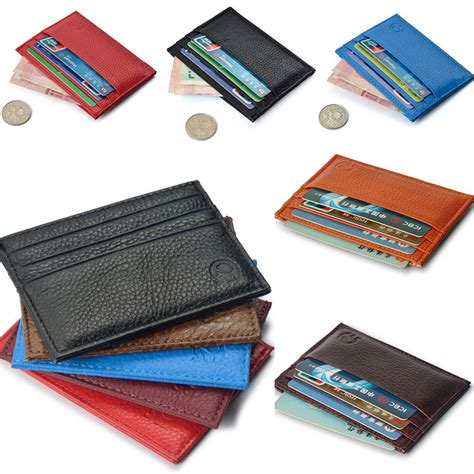 Card Wallet Small Black Wallet Small Leather Credit Card Wallet Black Wallets