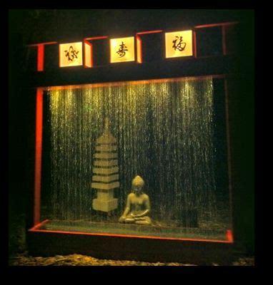build  rain curtain water fountain   diy