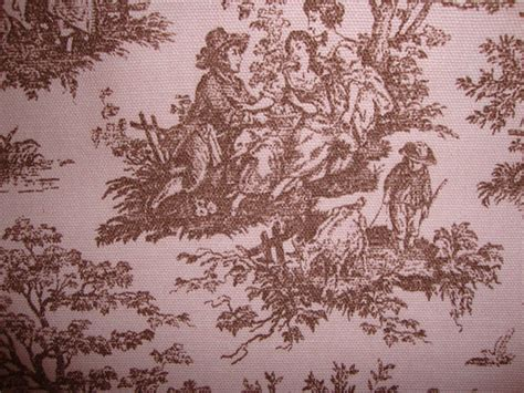 french style upholstery fabric cotton upholstery fabric french toile design french brown