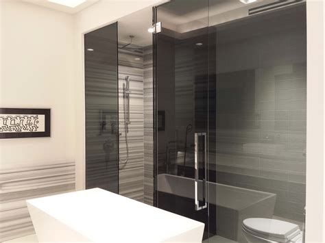 Tinted Shower Doors Acid Etched Frosted Glass Pars Glass