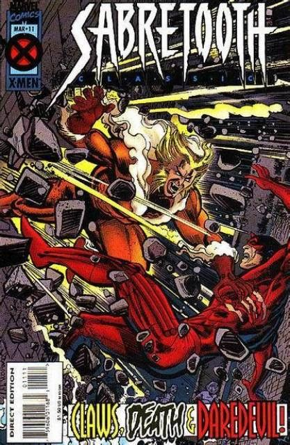 sabretooth classic vol 1 14 marvel database fandom powered by wikia sabretooth classic 6 falling issue