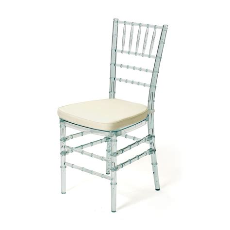 white bamboo wedding chairs clear lucite quot wedding quot chair w seat pad acrylic bamboo