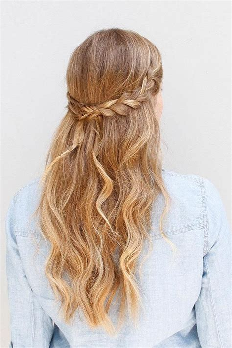 pretty easy hairstyles braids 55 stunning half up half down hairstyles