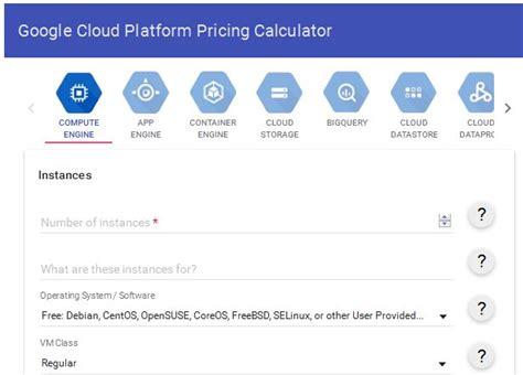calculator google cloud aws vs google cloud platform vs microsoft azure cloud