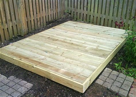 Shed Base Paving Slabs by Shed Base Handmade Gardens Sheds And