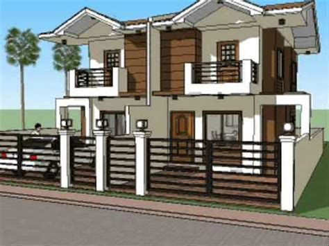 Low Cost Duplex Living Rooms Design Philippines Small House Plan Design Duplex Unit