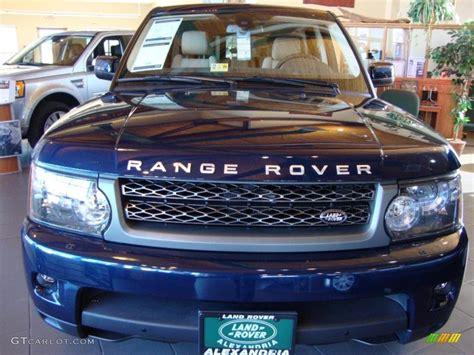blue range rover interior 2011 baltic blue land rover range rover sport hse lux