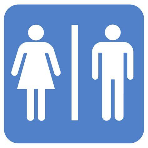 man and woman bathroom symbol man woman bathroom clipart 28