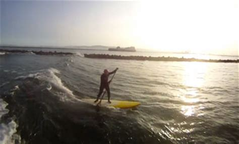 Surfing Dublin by Stand Up Paddle Surfing Dublin Ireland With A Twist