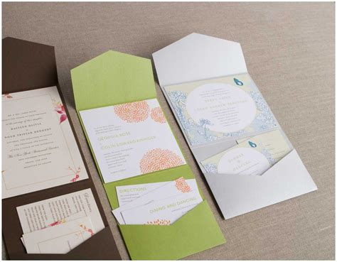 wedding invitation pocket sleeves 6 best images of envelope pocket templates for wedding diy pocket fold wedding invitation