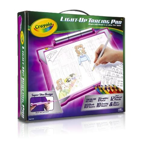 crayola light up board from usa crayola light up tracing pad pink coloring