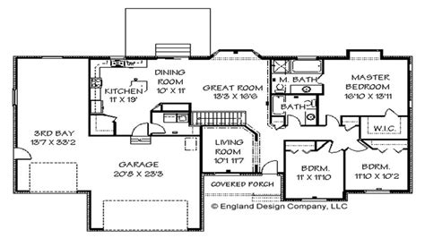Ranch Style Home Floor Plans With Basement by Ranch Style House Floor Plans With Basement Shotgun House