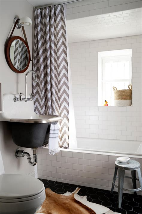chevron badezimmerideen photos giannasio hgtv