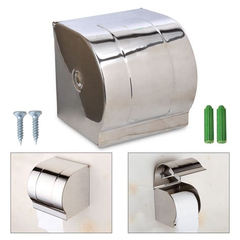 Toilet Paper Roller bathroom stainless steel waterproof toilet paper container