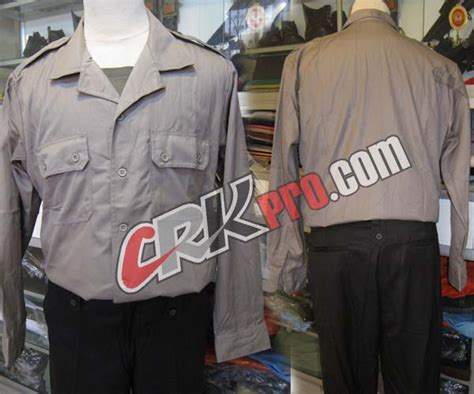 baju polisi pakaian polri seragam perlengkapan dinas