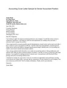 accounting cover letter exles accountant l picture accountant cover letter