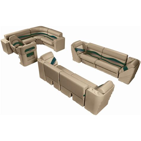 pontoon furniture sets wise deluxe pontoon complete fishing boat seating group