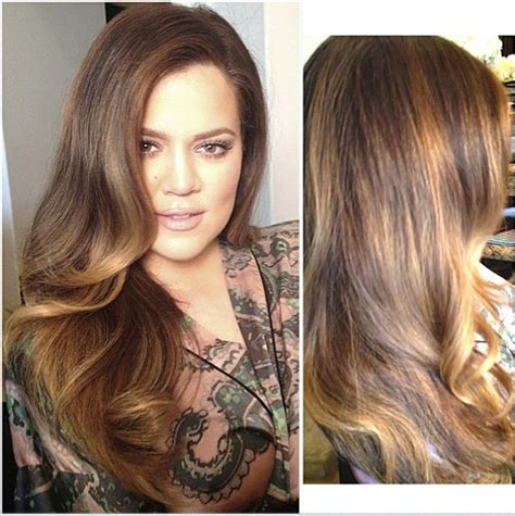 instagram kristel hairstyles khloe kardashian s highlights how to get her exact