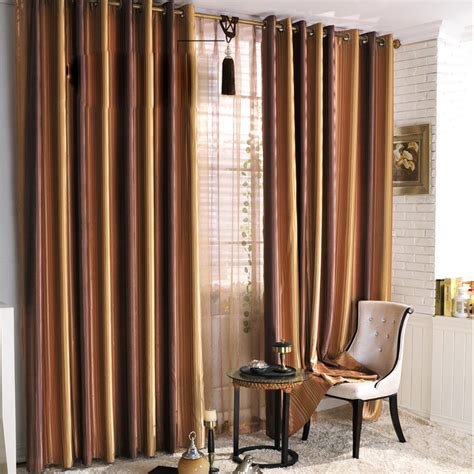 cheap striped curtains pin cheap curtains with red circle motif on pinterest