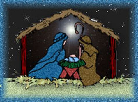 clipart christmas nativity scenes gift giving