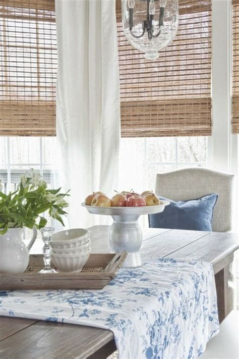 bamboo blinds and curtains bamboo blinds white curtains for the home pinterest