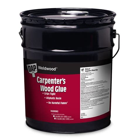 dap weldwood 5 gal carpenter s wood glue 7079800494 the