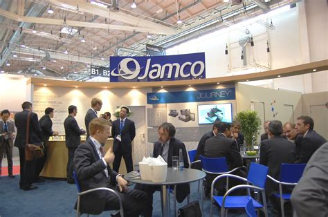 attended aircraft interiors expo 2014 in hamburg jamco