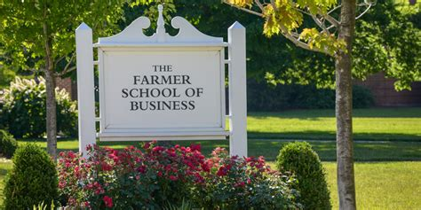 Farmer School Of Business Mba Ranking by Academics Farmer School Of Business Miami