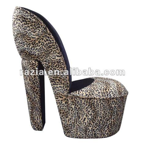 leopard high heel shoe chair stiletto high heel leopard shoe chair pp 203
