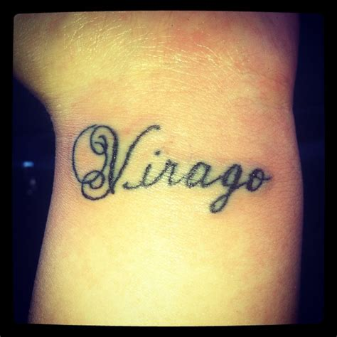Latin Tattoo For Strength | virago origin latin a woman of great inner strength or