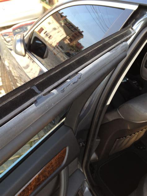 garage door leaks help water leaking into from rear doors 5series net
