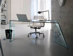 glass desks for home office nella vetrina tonelli penrose contemporary italian