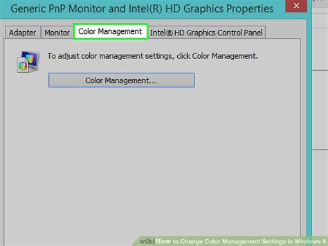 how to change color on windows 8 how to change color management settings in windows 8 13 steps