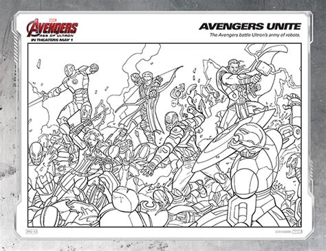 marvel adventures coloring pages free kids printables marvel s the avengers age of ultron
