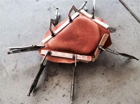 diy motorcycle seat upholstery diy bobber motorcycle seat motorcycle pinterest