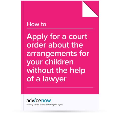 what do you need to qualify for section 8 how to apply for a court order about the arrangements for