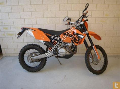 2007 Ktm 525 Exc Review Ktm 525 Exc Racing Pictures Specifications And