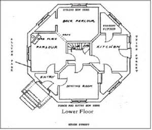 octagon house floor plans the national society of the colonial of america in