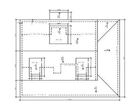 flat roof plan flat roof plans flat roof plan drawing flat building