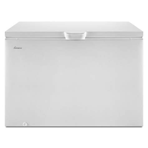 amana 14 8 cu ft compact chest freezer with deepfreeze