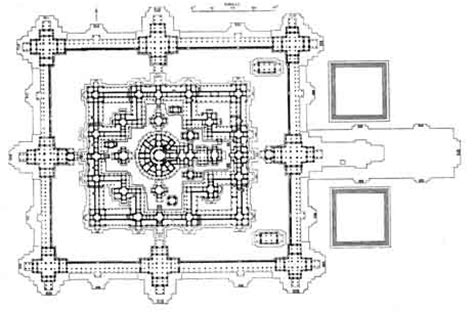 angkor wat floor plan bayon temple map siem reap