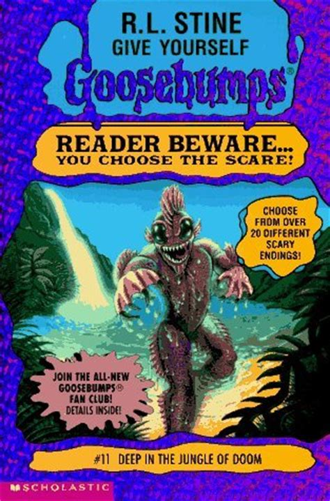 Rlstine 11 Buku in the jungle of doom give yourself goosebumps 11 by r l stine reviews discussion